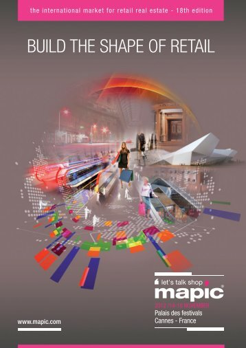 BUILD THE SHAPE OF RETAIL - mapic