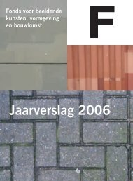 Download jaarverslag 2006 - Fonds BKVB
