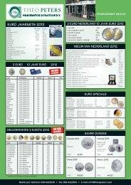 EURO JAARSETS 2012 - Theo Peters | Numismatiek & Filatelie BV