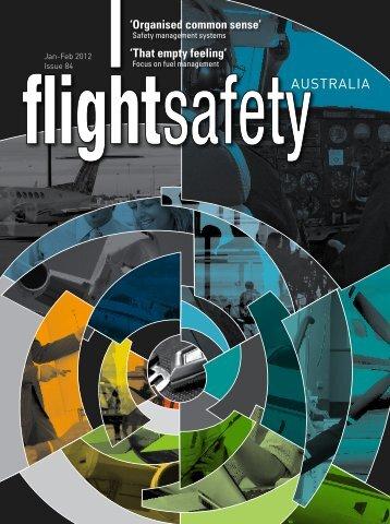 Flight Safety Australia - Jan-Feb 2012 - Civil Aviation Safety Authority