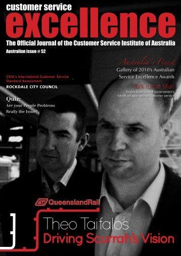 Theo Taifalos - Customer Service Institute of Australia