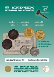 veiling auction - Theo Peters   Numismatiek & Filatelie BV