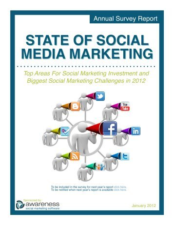 state of social media marketing state of social ... - Awareness, Inc.
