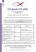 WAHL zum KIRCHENVORSTAND 2012 - Evangelisch-lutherische ... - Seite 4