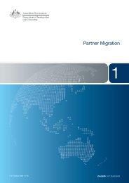 1127 - Partner Migration - Booklet 1 - Department of Immigration ...