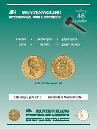 Muntenveiling - Theo Peters   Numismatiek & Filatelie BV