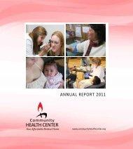 2011 Annual Report - Community Health Center