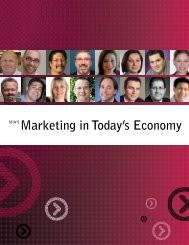 SIIA'S Marketing in Today's Economy - Software & Information ...
