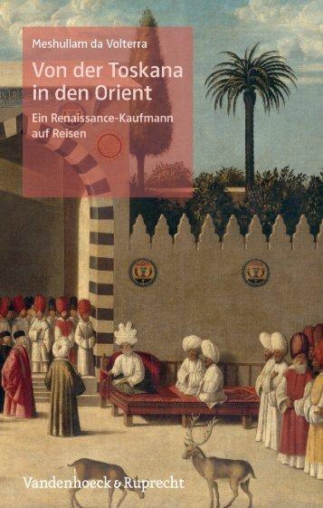 Von der Toskana in den Orient - Vandenhoeck & Ruprecht
