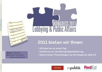 2011 bieten wir Ihnen: - Lansky Ganzger & Partner