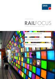 RAILFOCUS - SMA Railway Technology GmbH