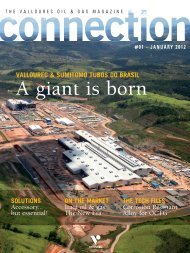 Find the online-edition of Connection magazine - VAM Services