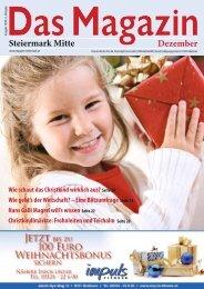 Steiermark Mitte Dezember - DAS MAGAZIN Steiermark-Mitte