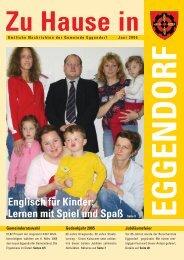 Lernen mit Spiel und Spaß - Gemeinde Eggendorf