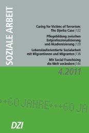 lebenslauforientierte Sozialarbeit mit Migrantinnen ... - Sozialinfo.ch
