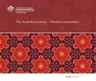 The Australian Journey - Muslim Communities - Department of ...