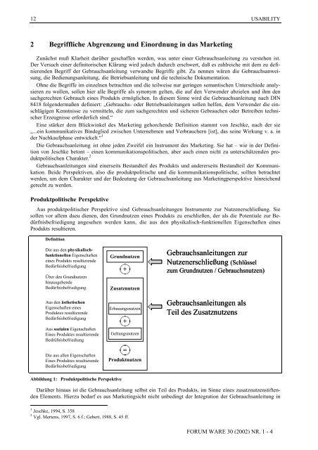 forum ware - Deutsche Gesellschaft für Warenkunde und Technologie