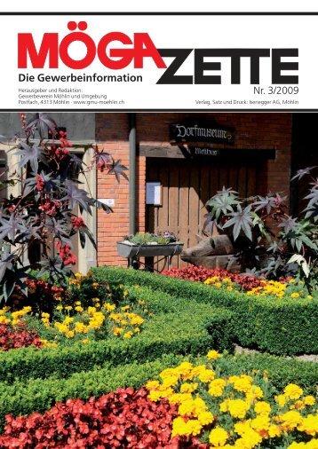 Die Gewerbeinformation - Gewerbeverein Möhlin und Umgebung