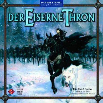 Der Eiserne Thron - Regel - Heidelberger Spieleverlag