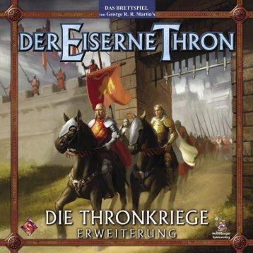 Die Thronkriege: Regel deu - Heidelberger Spieleverlag