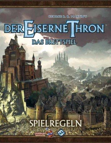 Der Eiserne Thron - Heidelberger Spieleverlag