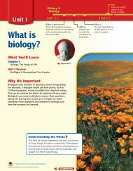 Chapter 1: Biology: The Study of Life - Garden Valley Photo