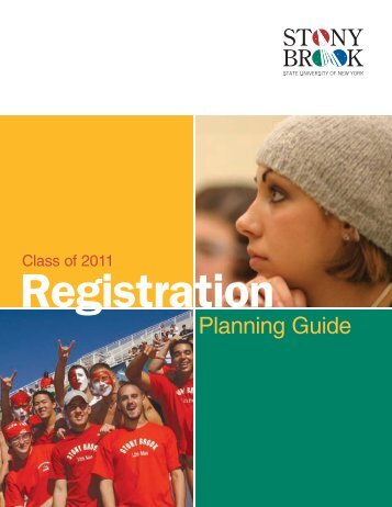 Planning Guide - Stony Brook University
