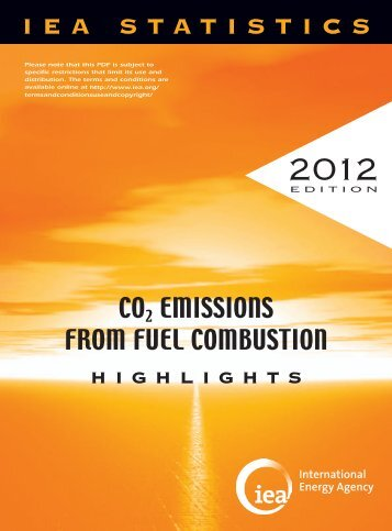 CO2 Emissions from Fuel Combustion - IEA