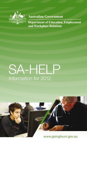 SA-HELP booklet (pdf) - Study Assist