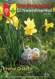 Frohe Ostern - beim Stadtmagazin Schwentinental!