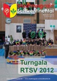 Turngala RTSV 2012 - beim Stadtmagazin Schwentinental!