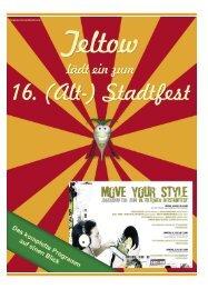 """15 Jahre """"Odyssey of the Mind"""" in Deutschland - Teltower Stadtfest"""