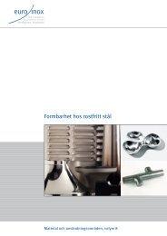 PDF: Formbarhet hos rostfritt stål - Euro Inox