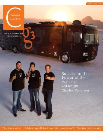 S uccess to the Power of 3— - Nu Skin