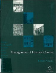 Management of Historic Centres Edited by Robert Pickard - imbf