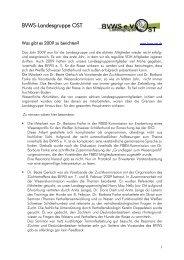 BVWS-Landesgruppe OST - Weiße Schweizer Schäferhunde