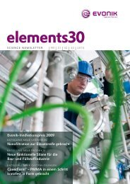 elements30 - Evonik Industries
