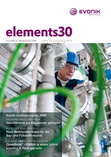 elements30 - Evonik Industries