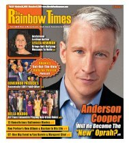 October 21, 2010 - The Rainbow Times