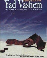 Yad Vashem Magazine #23