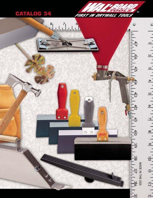ML-45 6 Pack Wal-Board Tools 03-003 2-3//4 x 9 Drywall Mini Lifter