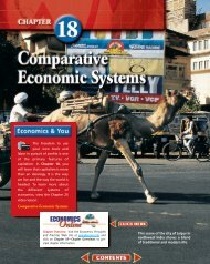 Chapter 18: Comparative Economic Systems