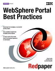 WebSphere Portal Best Practices - IBM Redbooks