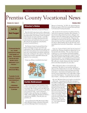 Congratulations! - the Prentiss County School District!