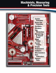 Machinists, Measuring & Precision Tools - General Tools and ...