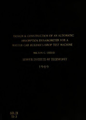 The design and construction of an automatic absorption ...