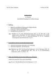 1 Prof. Dr. Klaus Tiedemann Freiburg, SS 2002 Strafprozeßrecht