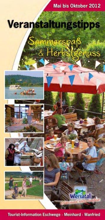Feste und Veranstaltungen - Kulturinitiative Werratal eV