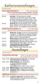 Feste und Veranstaltungen - Kulturinitiative Werratal eV - Seite 5
