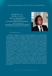 KLAUS TIEDEMANN - Instituto Latinoamericano de Estudios en ...
